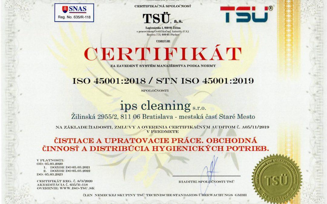ISO certifikácia pod hlavičkou SNAS